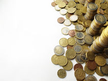 Torres del dinero foto de archivo libre de regalías