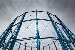 Torres del gas Fotos de archivo libres de regalías