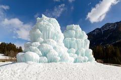 Torres del hielo Fotografía de archivo