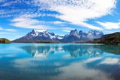 torres del Paine国家公园,智利 库存图片