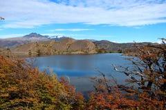 Torres del Paine λίμνη National πάρκων Στοκ Εικόνα