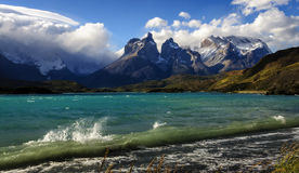 Torres del Paine εθνικό πάρκο, εθνικό πάρκο της Χιλής del Paine, Στοκ φωτογραφία με δικαίωμα ελεύθερης χρήσης