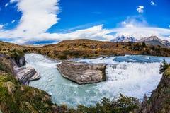 Torres del Paine - περιβαλλοντικά προστατευόμενη περιοχή βιόσφαιρας Στοκ Εικόνες