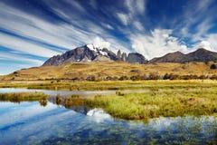 Torres del Paine, Χιλή στοκ εικόνα με δικαίωμα ελεύθερης χρήσης