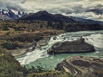 Torres Del Paine Stock Foto