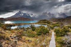 Torres Del Paine Imagens de Stock Royalty Free