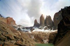 Torres Del Paine Stock Images