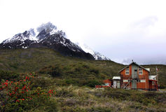 Torres del Paine Foto de Stock