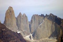 Torres del paine 库存照片