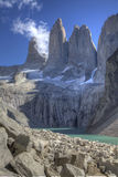 The torres del paine Stock Photos