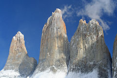 Torres del paine Photos stock