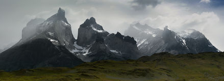 Torres Del Paine Stockfotos