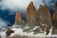 Torres Del Paine Stockbild