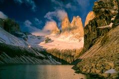 Torres Del Paine Lizenzfreie Stockbilder