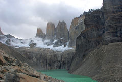 Torres del paine Royalty-vrije Stock Foto's