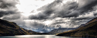 Torres Del Paine Foto de Stock Royalty Free
