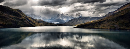 Torres Del Paine Stock Photography