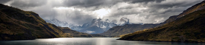Torres Del Paine Imagens de Stock