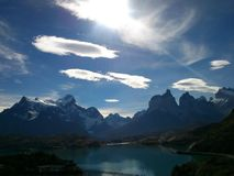 Torres del Paine. Amazing landscape nature of the south of Chile Stock Photography