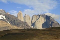 Torres del Paine, Chile Imagen de archivo libre de regalías