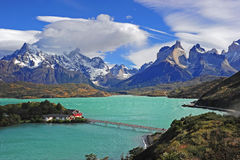 Torres del Paine, Chile stock photography
