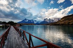 Torres del Paine Chile royalty free stock image