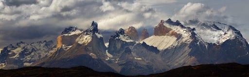 Torres del Paine, Chili stock afbeeldingen