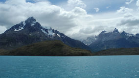 Torres del Paine, Chili stock afbeelding