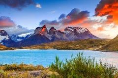 Torres del Paine, Chili Royalty-vrije Stock Fotografie