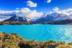 Torres del Paine, Chili Royalty-vrije Stock Foto's