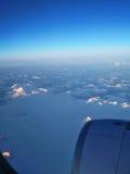 Torres del Paine dall'aria fotografia stock libera da diritti