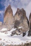 Petit groupe de Torres del paine Images stock