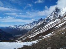 Torres del Paine en caída, Chile. Imagen de archivo libre de regalías