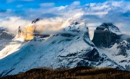 Torres del Paine Indomitable stock foto's