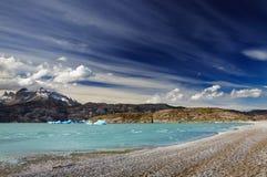 Torres del Paine, Lake Grey Royalty Free Stock Image