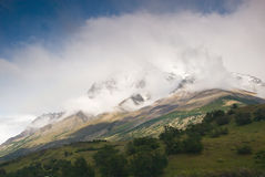 Torres Del Paine Landscape Stock Photography
