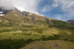 Torres Del Paine Landscape Royalty Free Stock Images