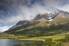 Torres Del Paine Landscape Stock Photos