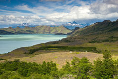 Torres Del Paine Landscape Royalty Free Stock Image