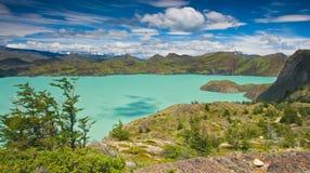 Torres Del Paine Landscape Fotos de archivo libres de regalías
