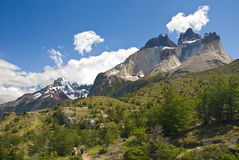 Torres Del Paine Landscape Stock Photo