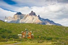 Torres Del Paine Landscape lizenzfreie stockbilder