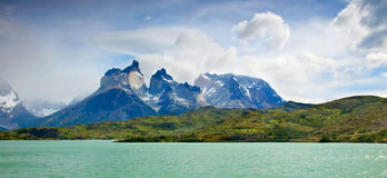 Torres Del Paine Landscape Royalty Free Stock Photos