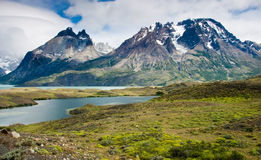 Torres Del Paine Landscape Royalty Free Stock Image