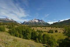 Torres del Paine landscape Royalty Free Stock Photos
