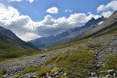Torres del Paine landscape Royalty Free Stock Images
