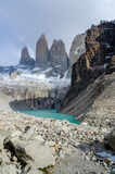 Torres del Paine maximum Royaltyfri Fotografi