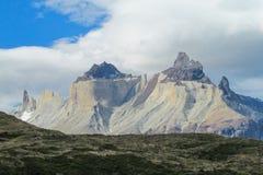 Torres del Paine mountain Stock Photo