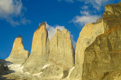 Torres del Paine mountain Royalty Free Stock Images
