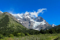 Torres del Paine mountain national park Stock Photo